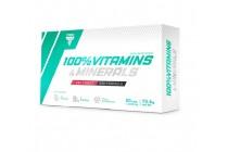 100% Vitamins&Minerals 60kaps