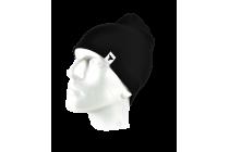 Winter Cap 002 Black  Riided
