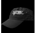 ARMY BASEBALL - CAP - BLACK Riided