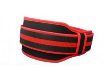 PAS #13 / BELT FABRIC DOUBLE RED TRAINING ACCESSORIES