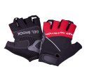 GELSHOCK  BLACK-RED MEN'S TRAINING ACCESSORIES